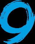 Скачать PNG картинку на прозрачном фоне Рваная цифра 9
