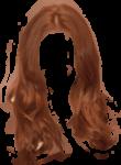 Скачать PNG картинку на прозрачном фоне Рыжие волосы, вид спереди