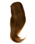 Скачать PNG картинку на прозрачном фоне Рыжий женскиий парик