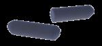 Скачать PNG картинку на прозрачном фоне Серый мелок с круглым счением