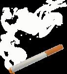 Скачать PNG картинку на прозрачном фоне Сигарета тлеет