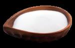 Скачать PNG картинку на прозрачном фоне Соль в деревянной посуде