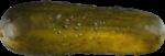 Скачать PNG картинку на прозрачном фоне Соленый огурец