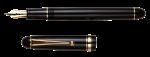 Скачать PNG картинку на прозрачном фоне Старая перьевая ручка с открытым колпачком