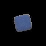 Скачать PNG картинку на прозрачном фоне Стерка-синяя, прямооугольная с закругленными краями, вид сверху