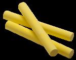 Скачать PNG картинку на прозрачном фоне Три желтых мелк а с круглым сечением