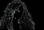 Скачать PNG картинку на прозрачном фоне Волосы женские, длинные кучерявые