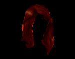 Скачать PNG картинку на прозрачном фоне Яркие, рубиновые женские короткие волосы
