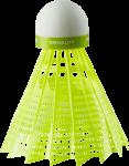 Скачать PNG картинку на прозрачном фоне Зеленый воланчик для бадминтона