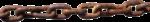 Скачать PNG картинку на прозрачном фоне Железная ржавая толстая цепь