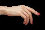 Скачать PNG картинку на прозрачном фоне Женская рука тянется